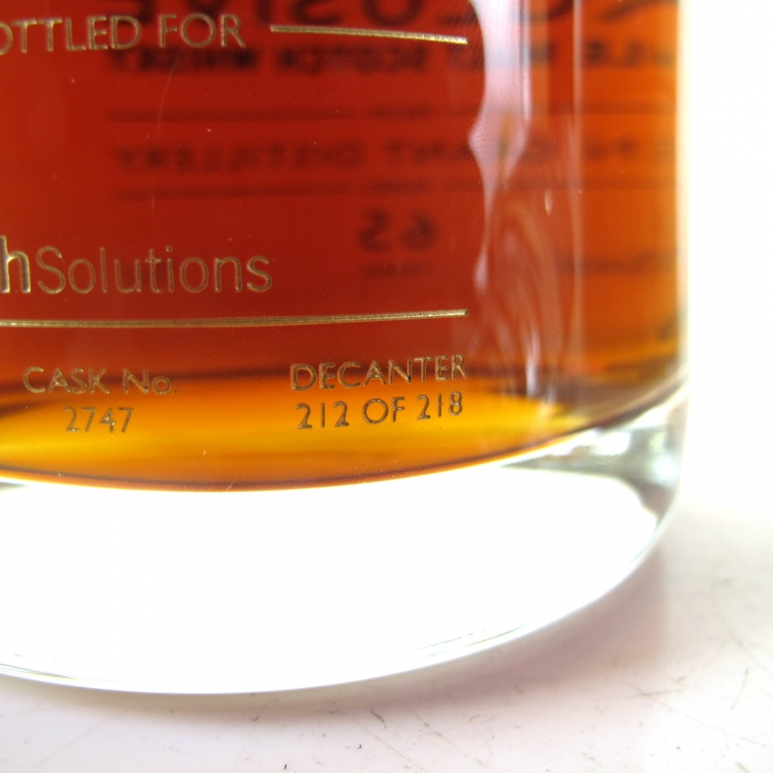 Glen Grant 1950 Gordon and MacPhail 65 Year Old / Wealth Solutions
