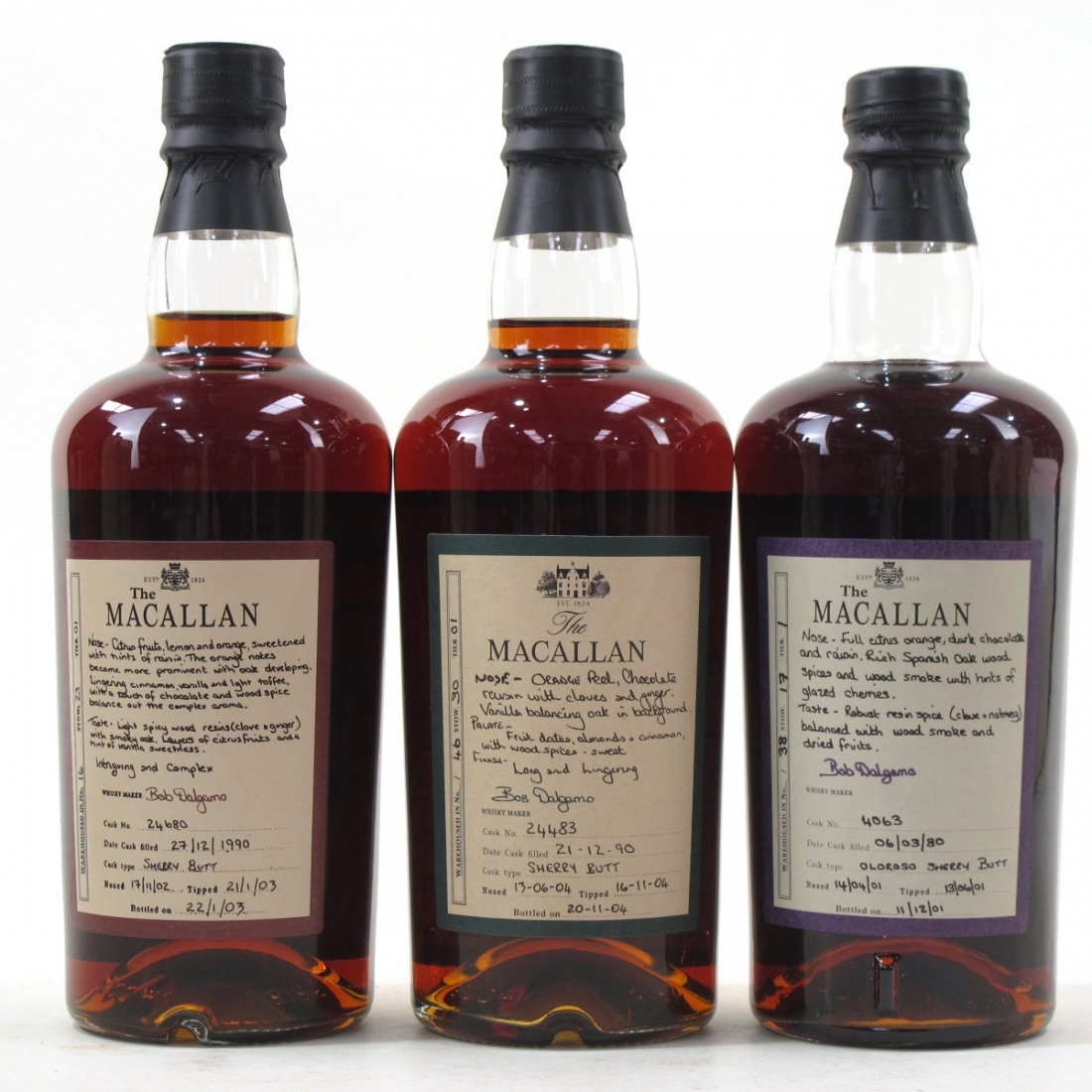 Macallan Exceptional Cask Collection 6 x 50cl / First Release