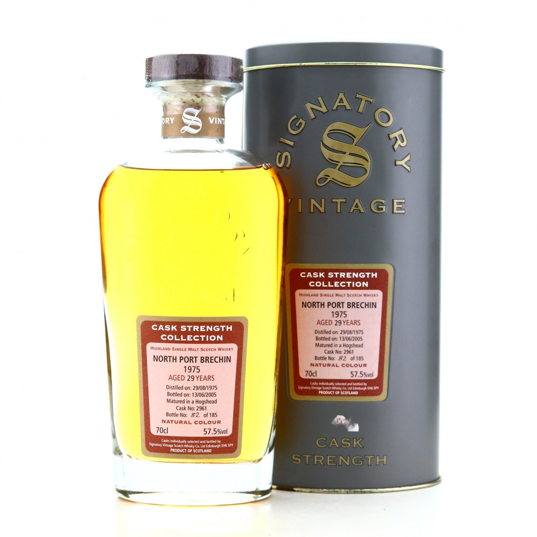 North Port-Brechin 1975 Signatory Vintage 29 Year Old Cask Strength