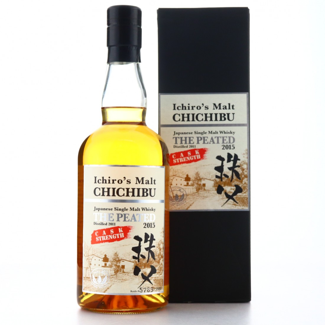 Chichibu 2011 The Peated 2015 / Cask Strength