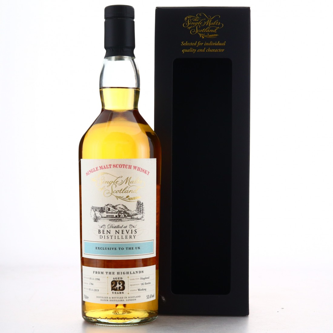 Ben Nevis 1996 Single Malts of Scotland 23 Year Old