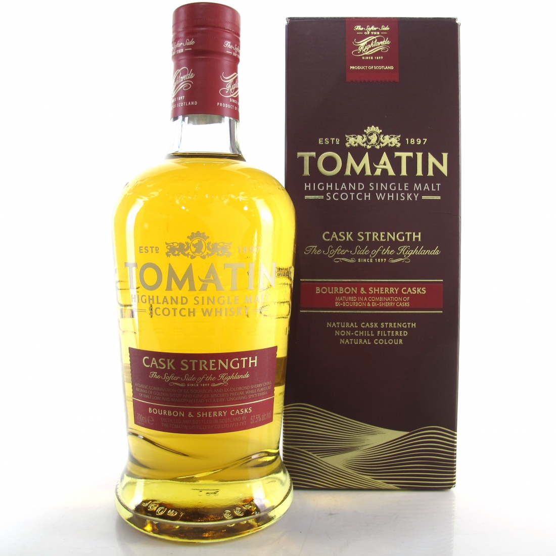 Tomatin Cask Strength / Bourbon and Sherry Casks