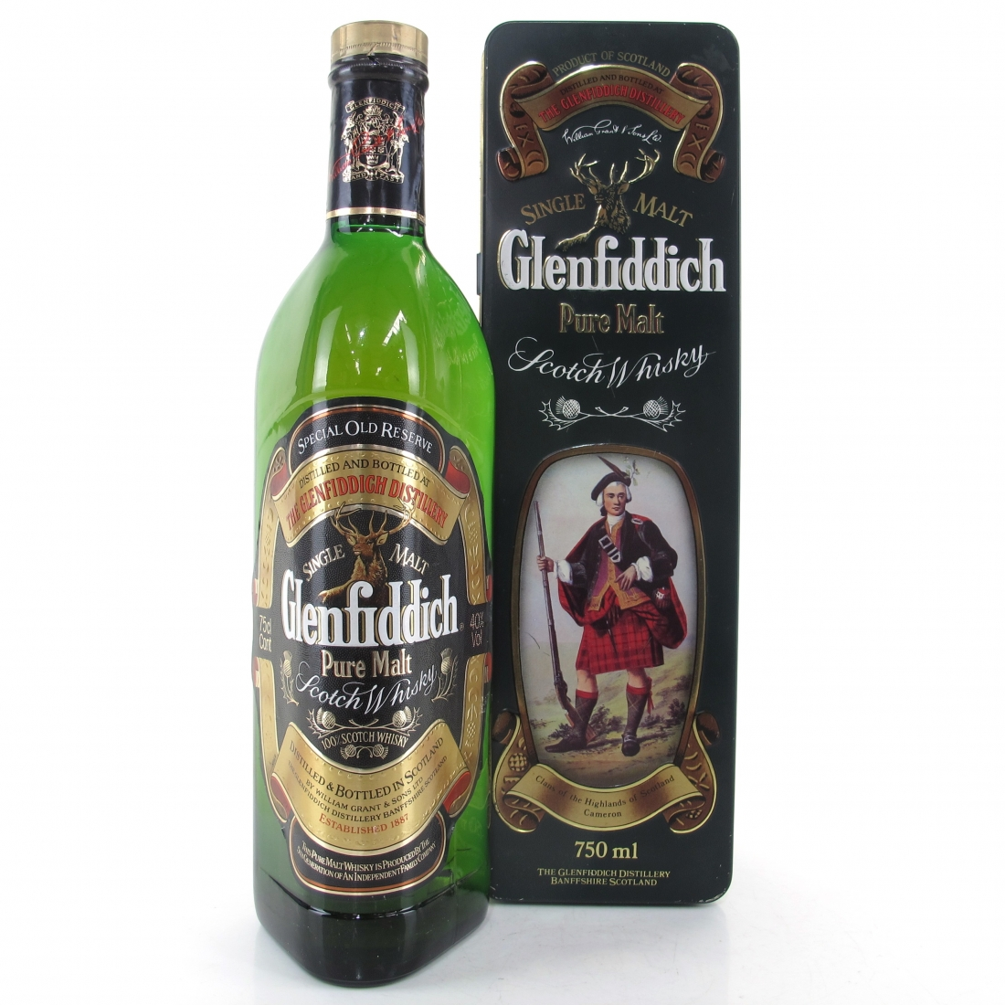 Glenfiddich Clans of the Highlands 1980s / Clan Cameron