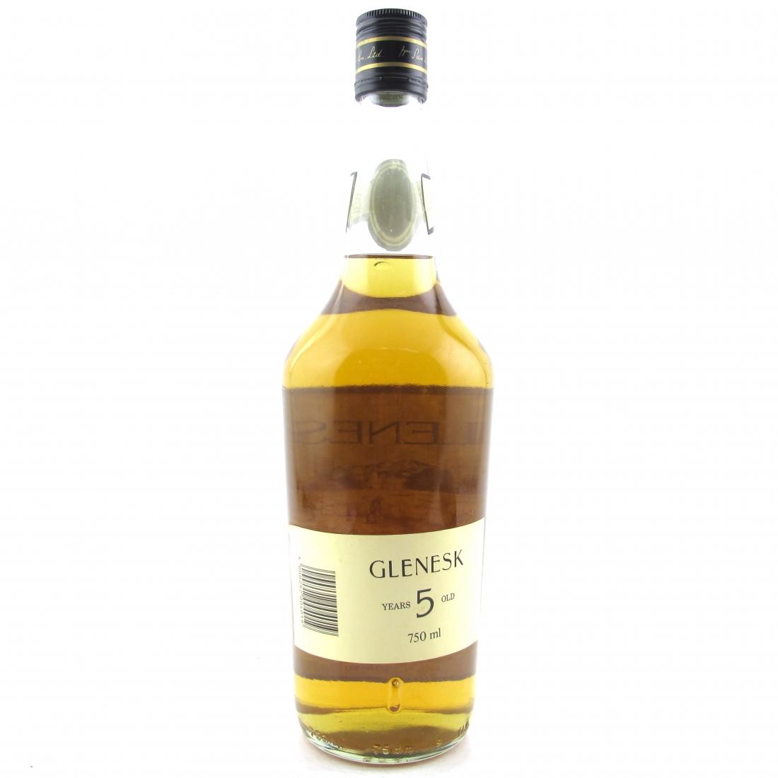 Glenesk 5 Year Old 1980s / Buton Import