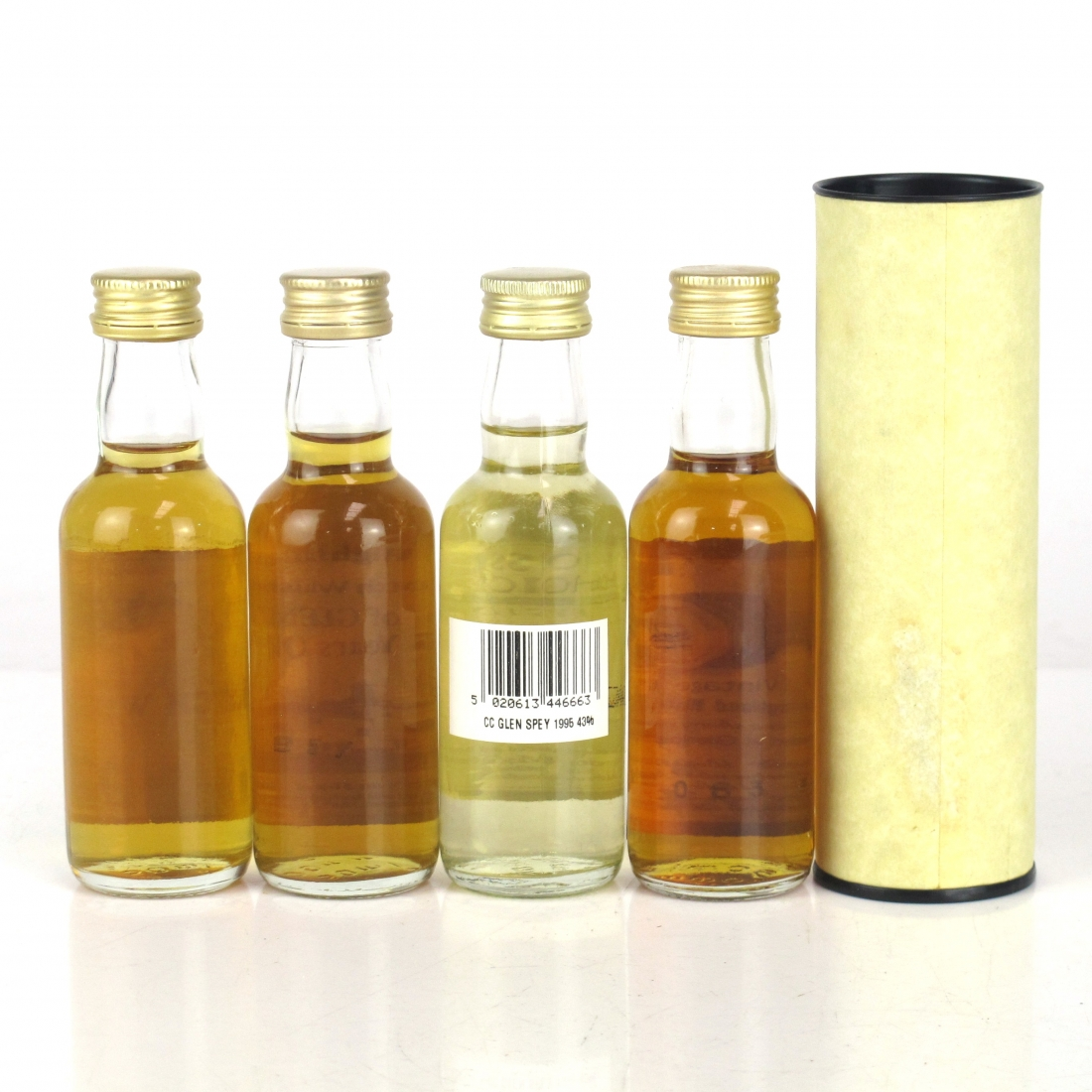 Speyside Miniature Selection 4 x 5cl / including Glenlossie 1981