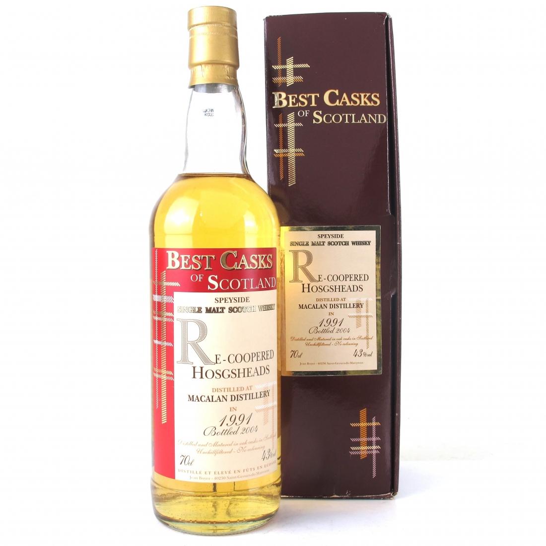 Macallan 1991 Best Casks of Scotland