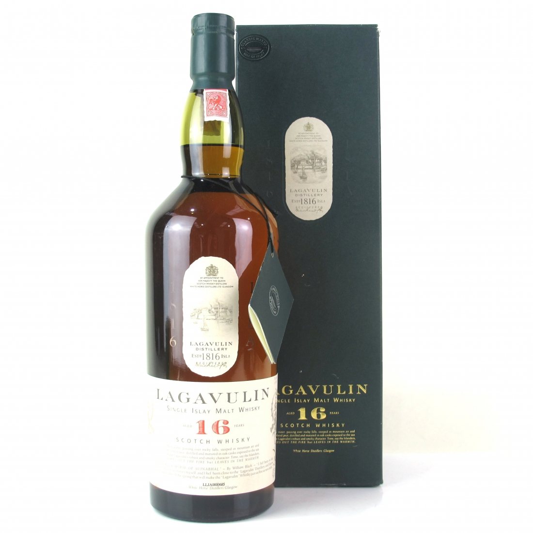 Lagavulin 16 Year Old White Horse 1 Litre