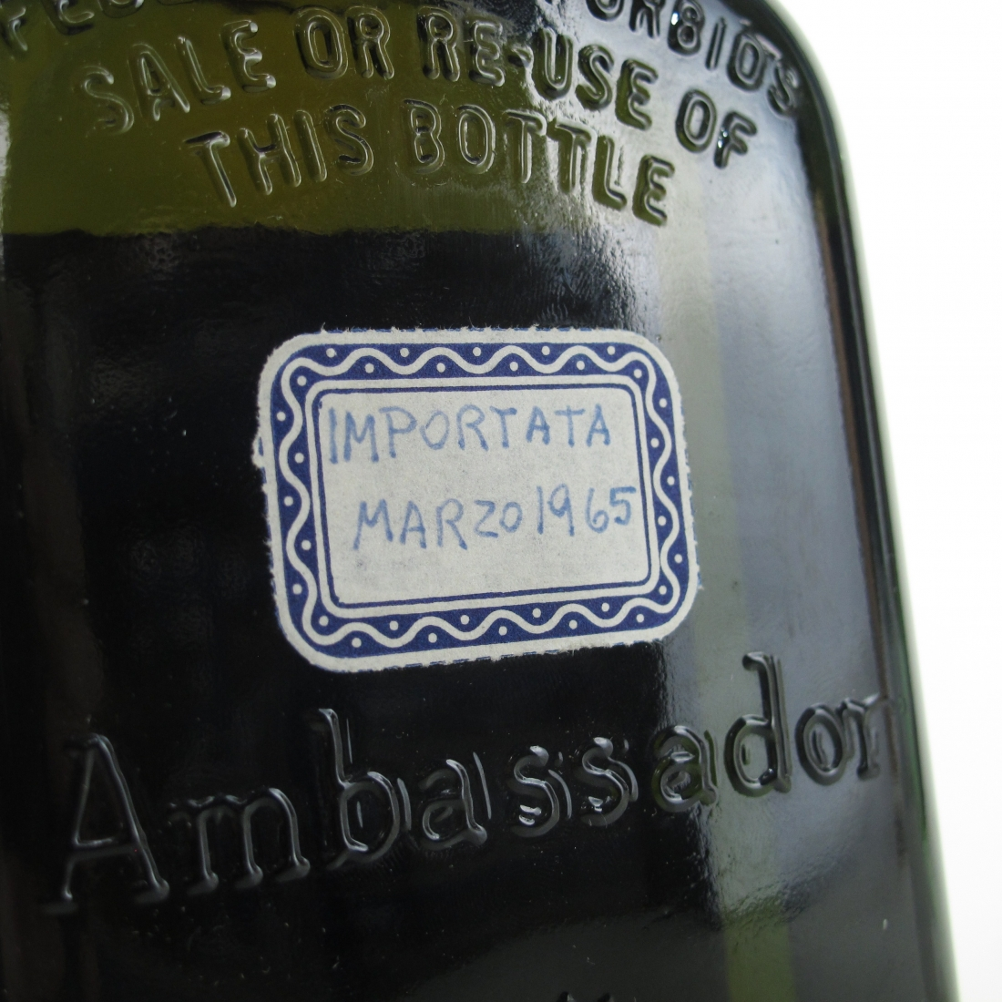 Ambassador 25 Year Old 1960s