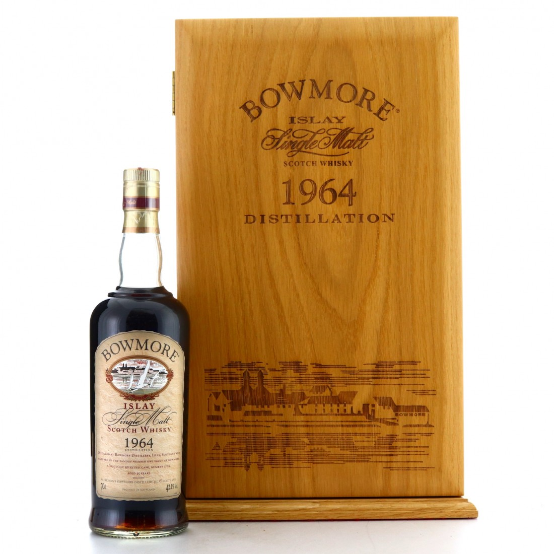 *Bowmore 1964 Single Cask 35 Year Old