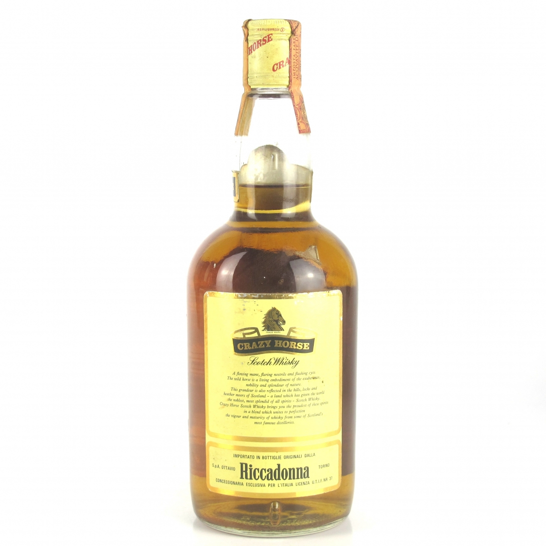 Crazy Horse Scotch Whisky 1970s