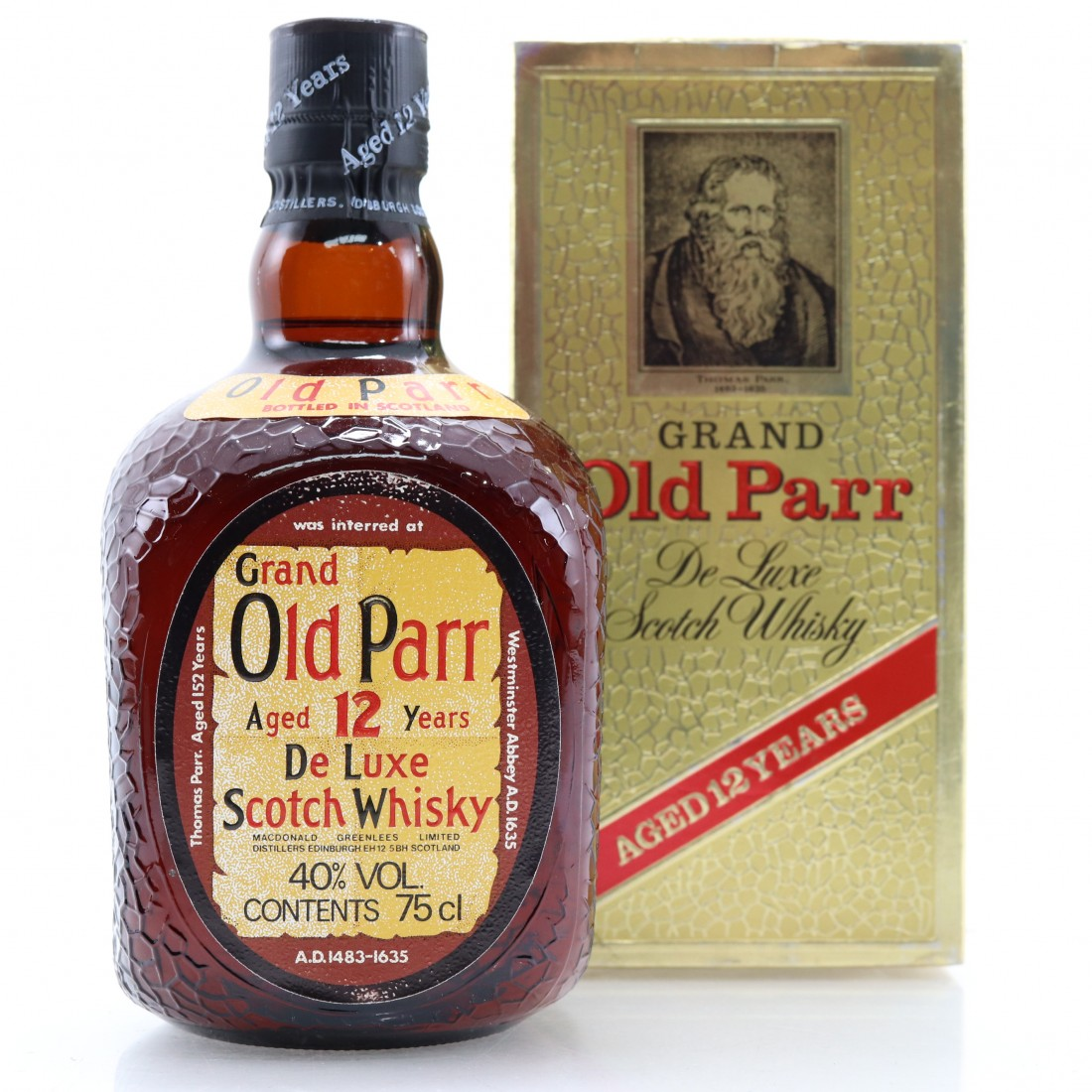 Grand Old Parr 12 Year Old