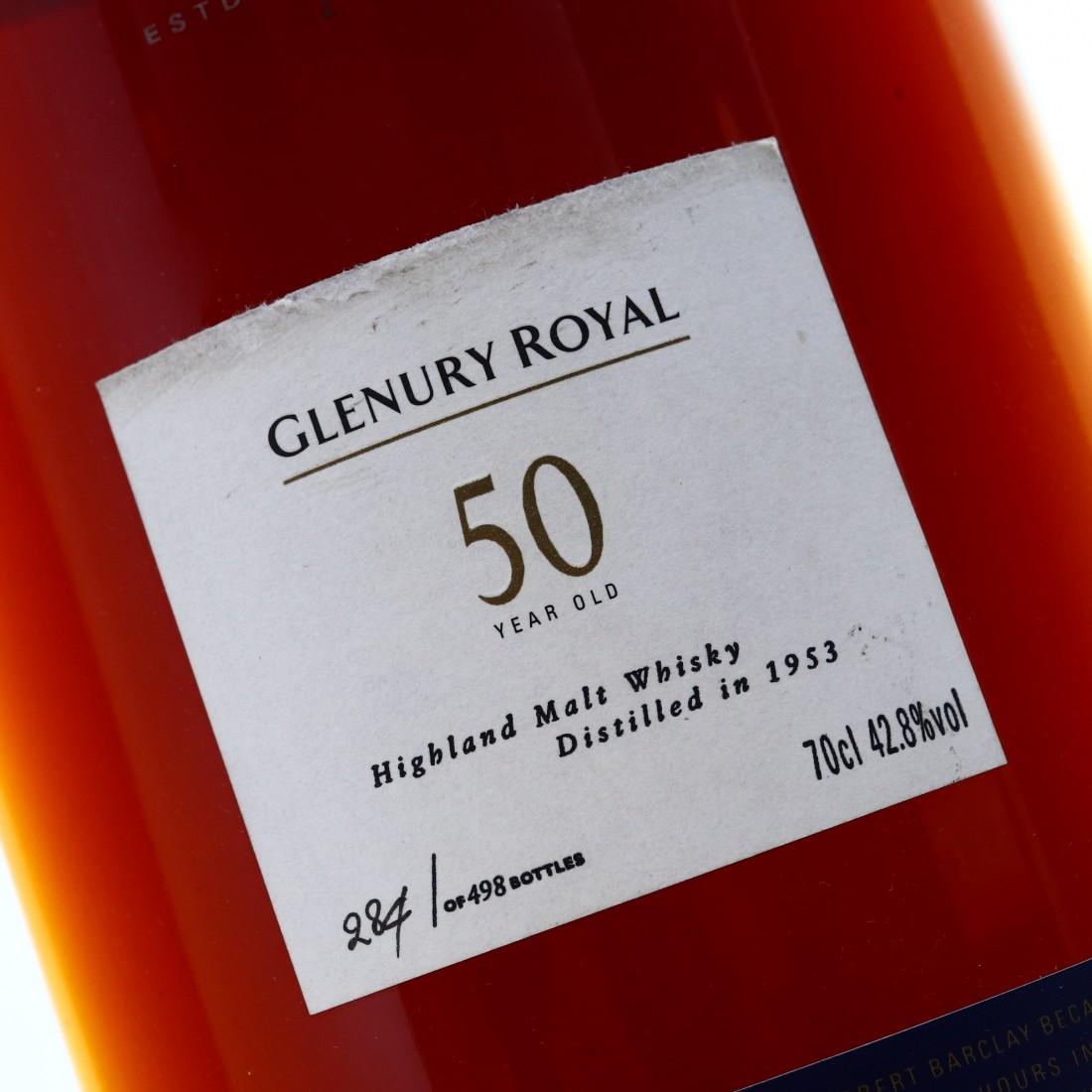 Glenury Royal 1953 Cask Strength 50 Year Old