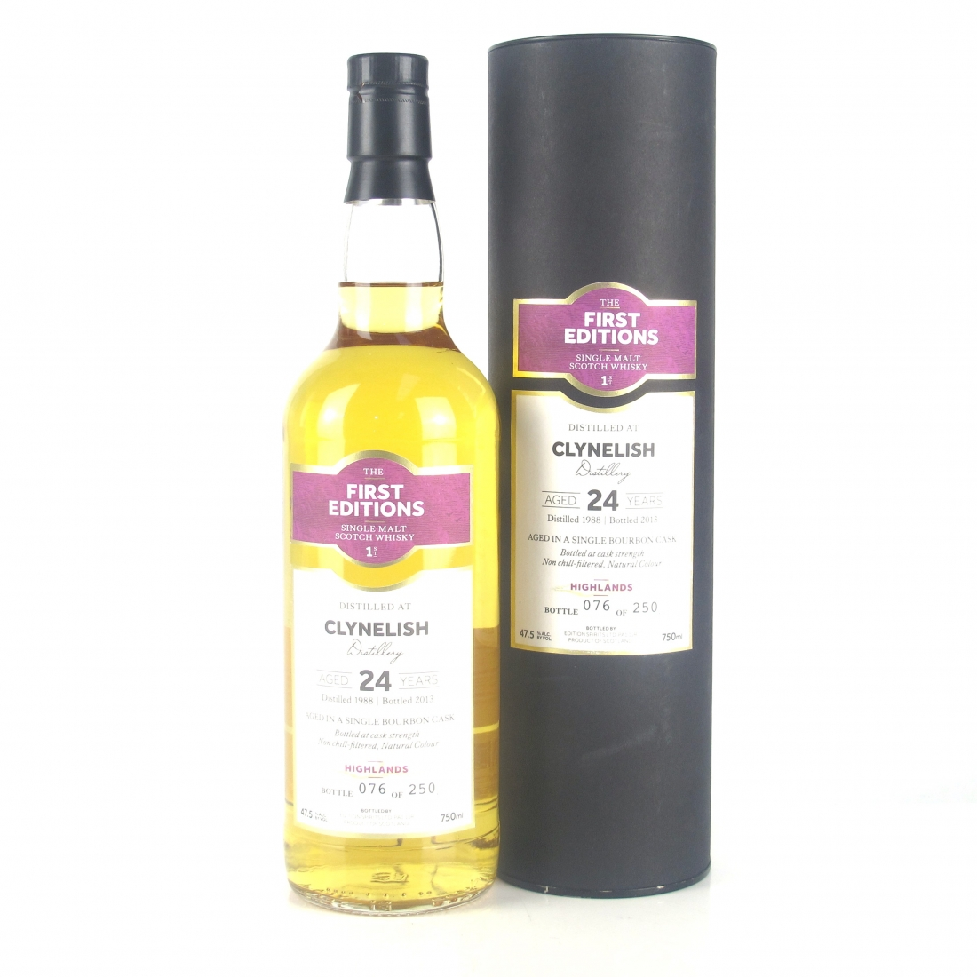 Clynelish 1988 Edition Spirits 24 Year Old 75cl / US Import