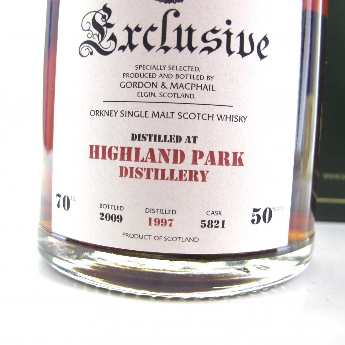 Highland Park 1997 Gordon and MacPhail Single Cask