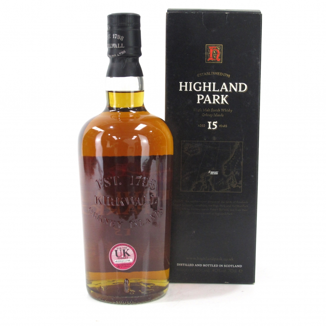 Highland Park 15 Year Old 1990s