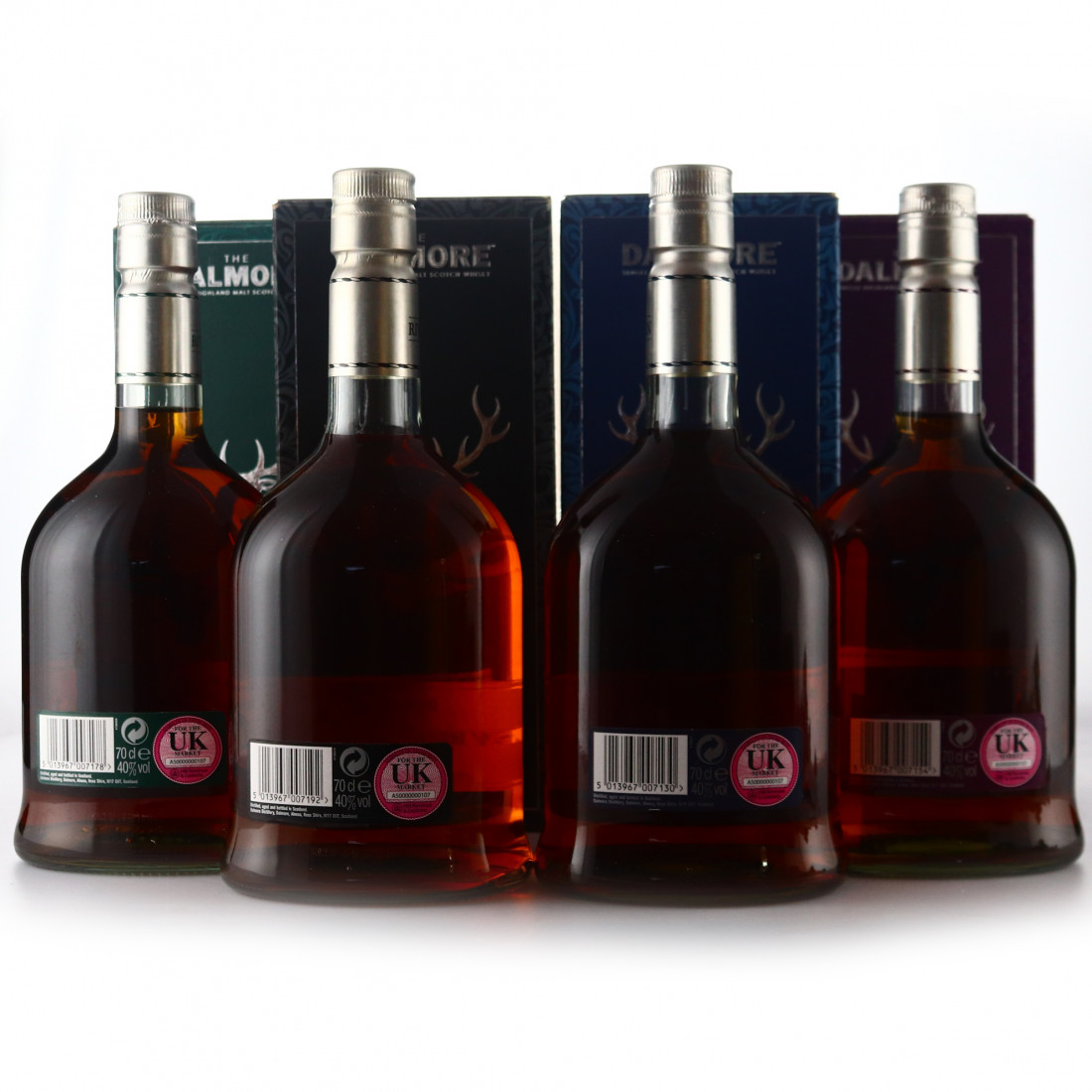Dalmore Rivers Selection 4 x 70cl / includes Dee Dram 2011