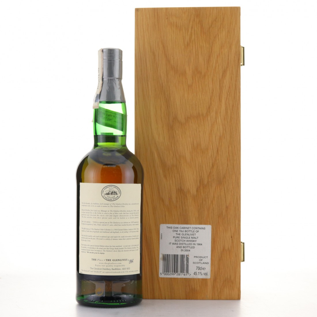 Glenlivet 1964 Cellar Collection Cask Strength