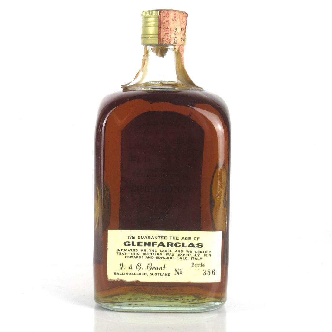 Glenfarclas 21 Year Old 1970s / Pinerolo Import