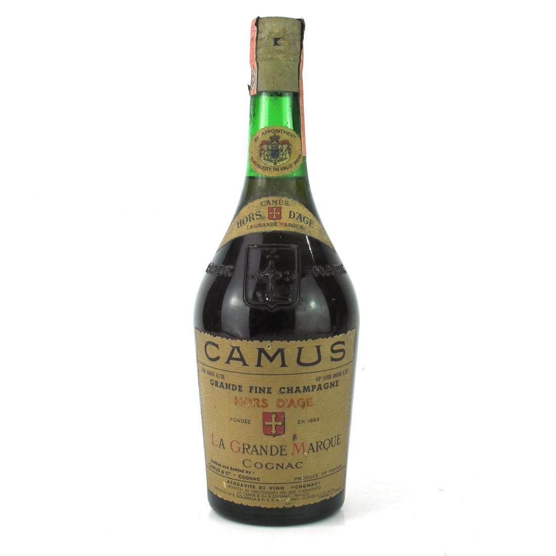 Camus Hors D'Age La Grande Marque Cognac 1970s