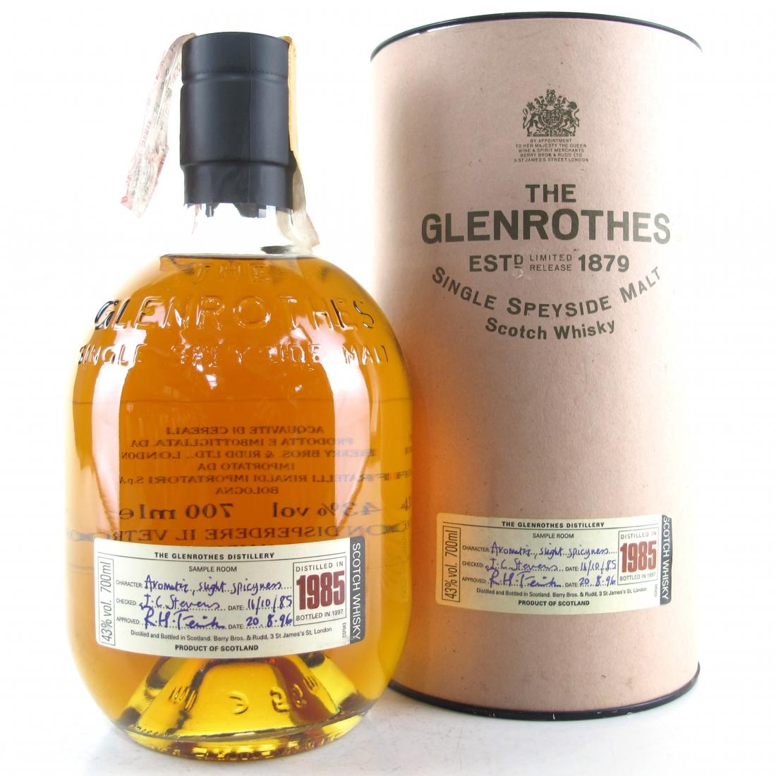 Glenrothes 1985