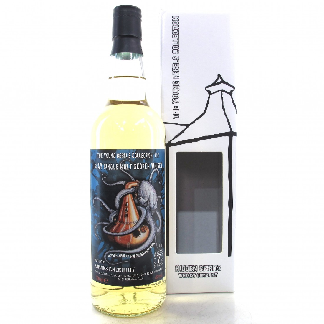 Bunnahabhain 2008 Hidden Spirits 7 Year Old