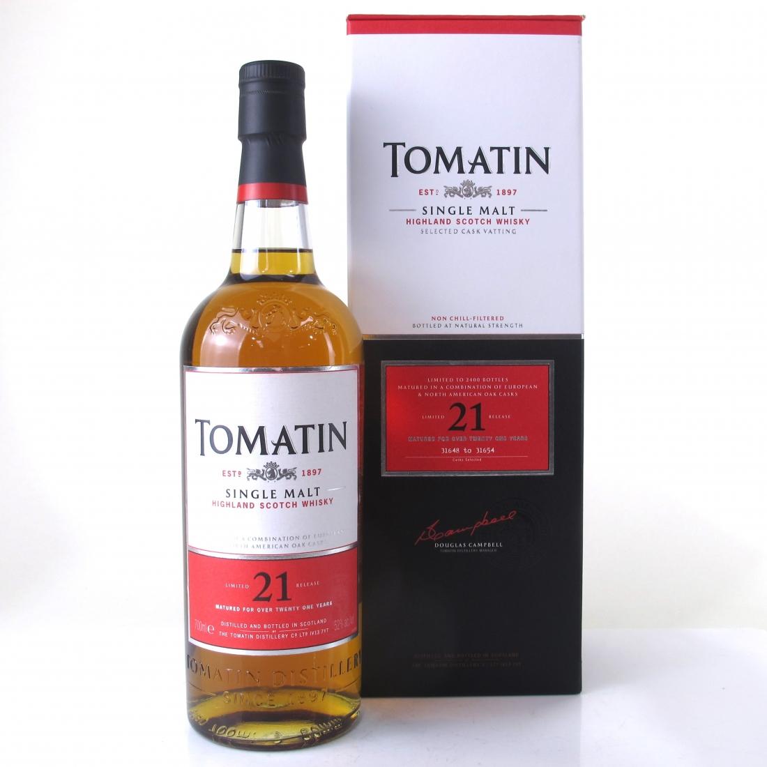 Tomatin 21 Year Old