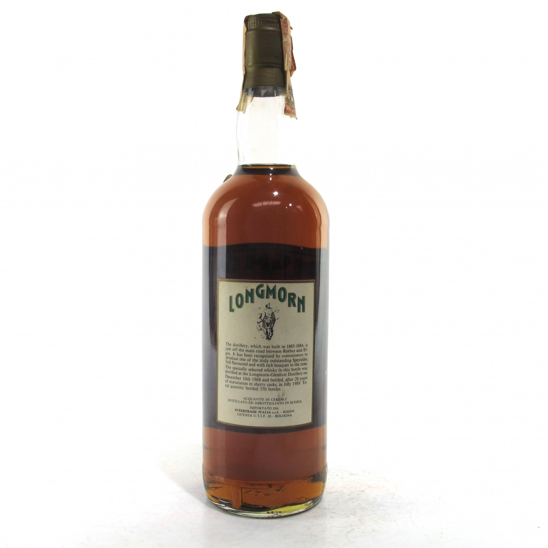 Longmorn 1968 Intertrade 20 Year Old