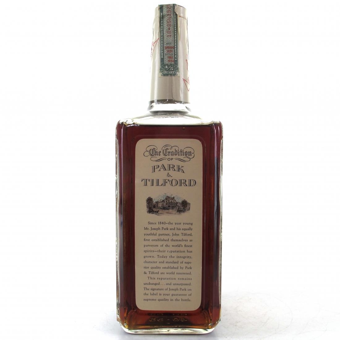Park and Tilford 1951 'Mr Park' Bottled in Bond 5 Year Old