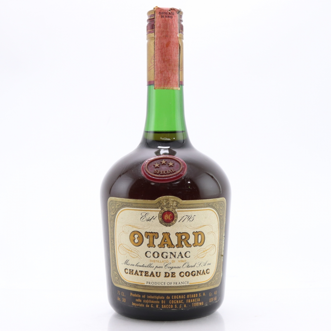 Otard 3 Star Special Cognac 1970s