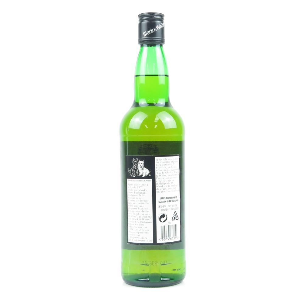 Black and White Blended Scotch Whisky