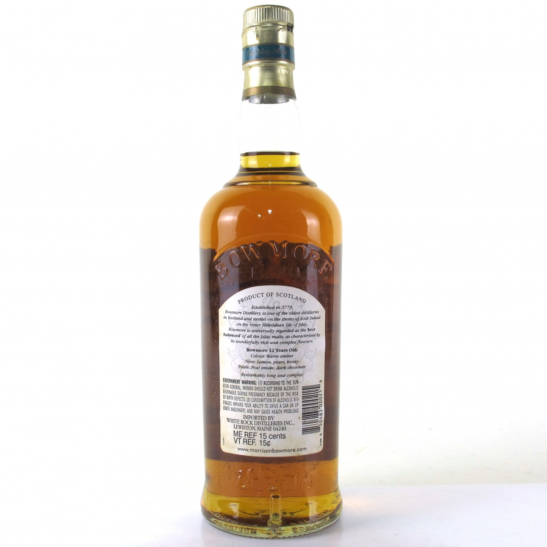 Bowmore 12 Year Old 75cl / US Import