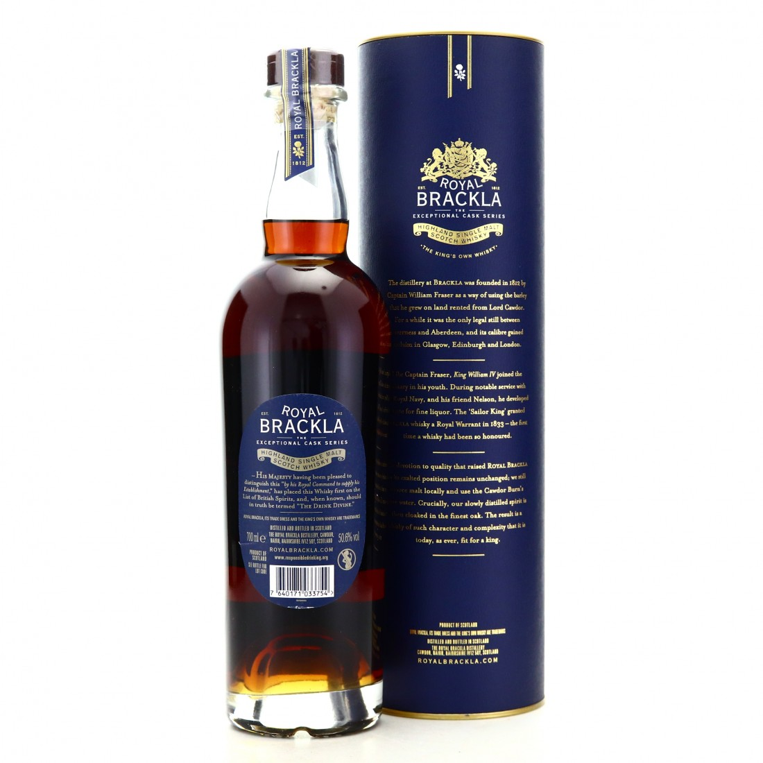 Royal Brackla 1998 Italian Red Wine Finish 20 Year Old / Exceptional Cask Series