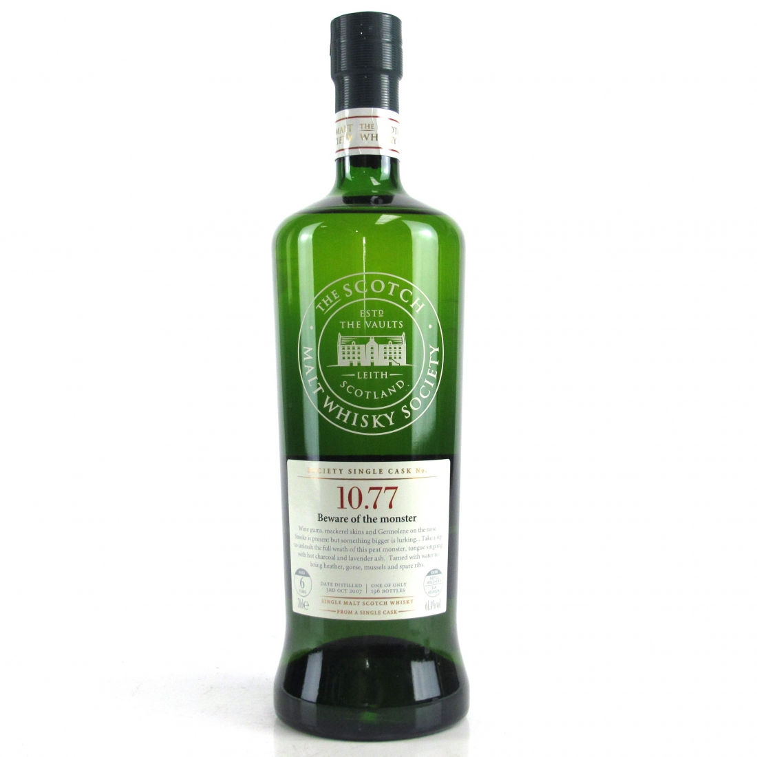 Bunnahabhain 2007 SMWS 6 Year Old 10.77