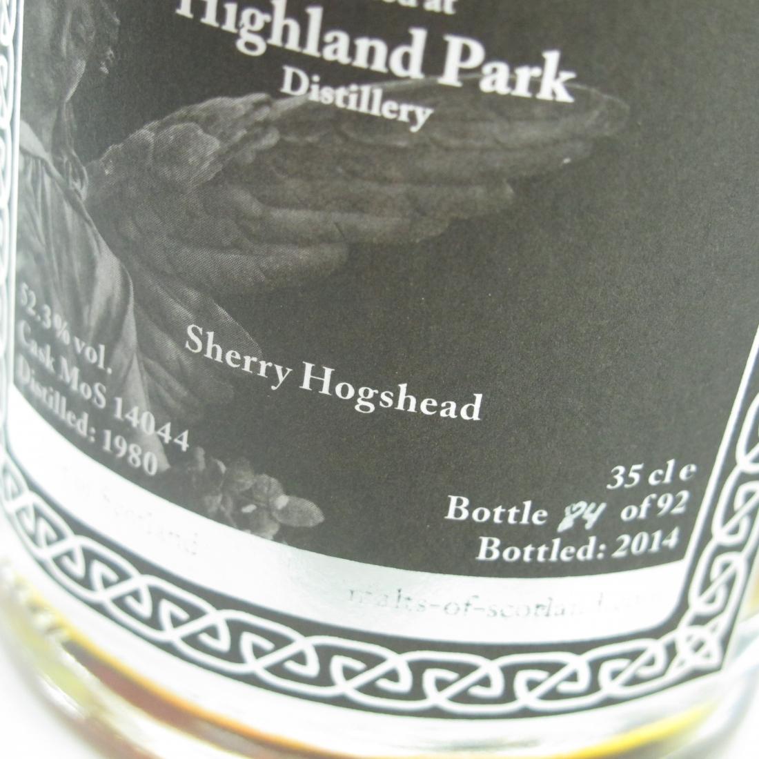Highland Park 1980 Malts of Scotland Angel's Choice 35cl