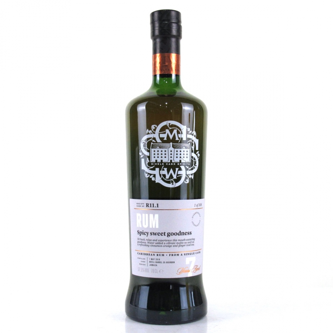 Jamaca 2010 SMWS 7 Year Old Rum R11.1