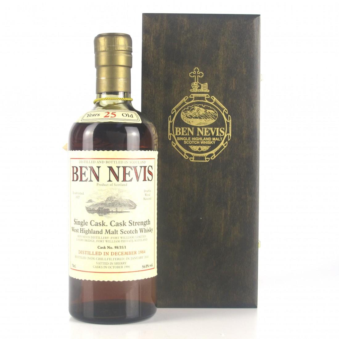 Ben Nevis 1984 Single Cask 25 Year Old