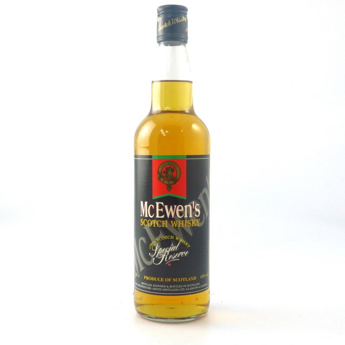 McEwen's Special Reserve