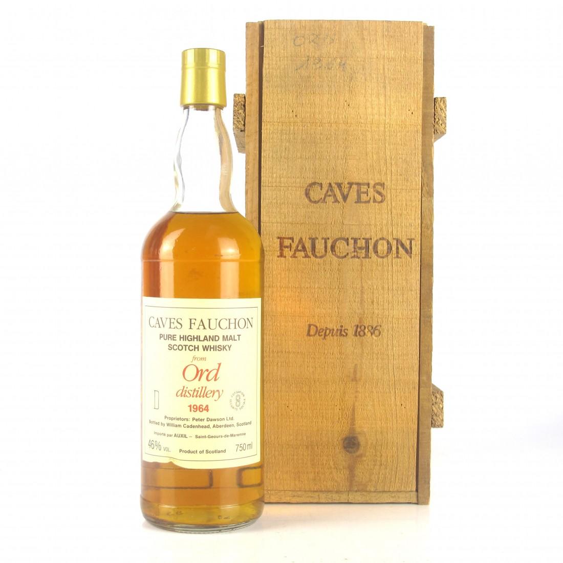 Glen Ord 1964 Caves Fauchon