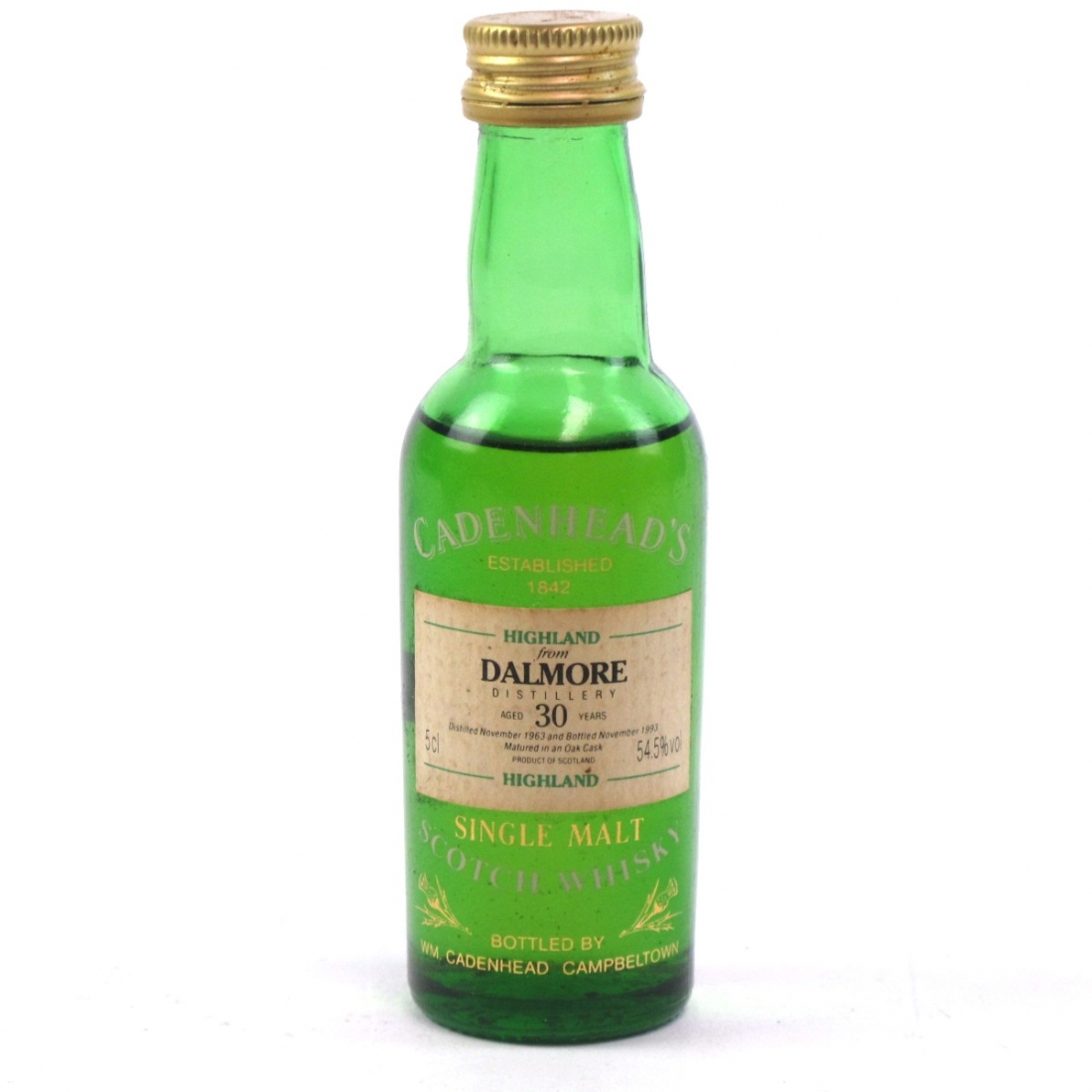 Dalmore 1963 Cadenhead's 30 Year Old 5cl