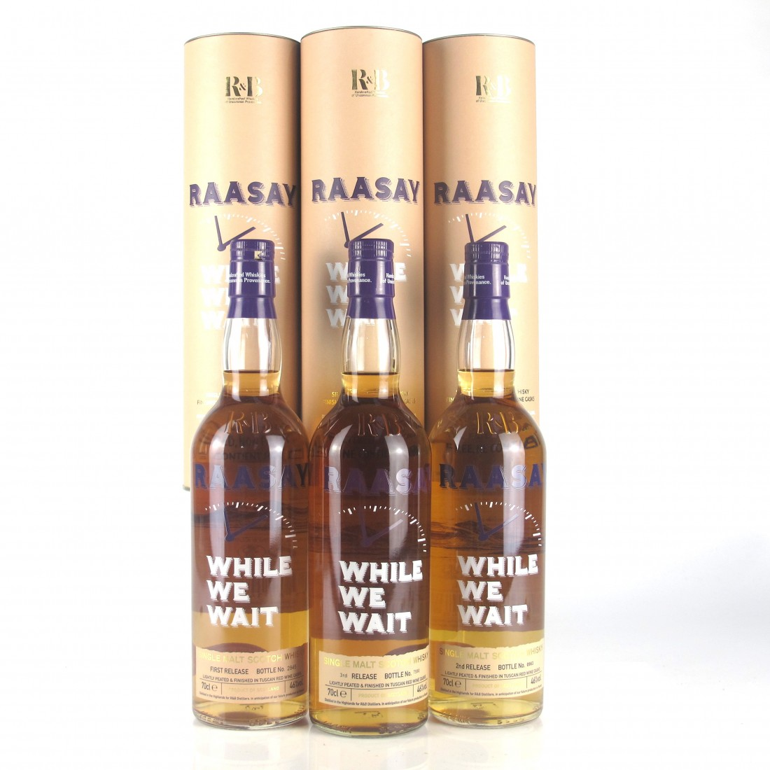 Raasay While We Wait 1st-3rd Edition / 3 x 70cl​