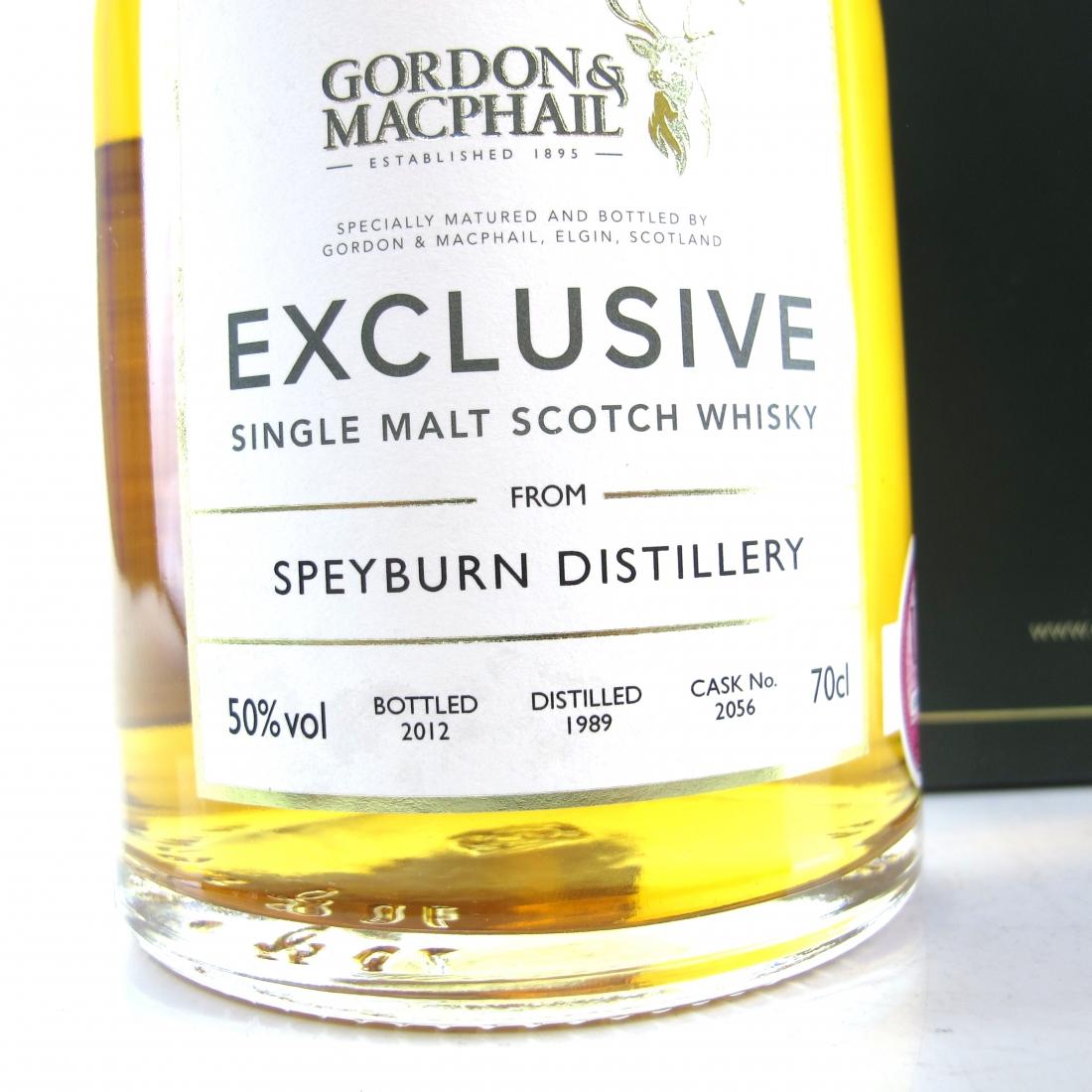 Speyburn 1989 Gordon and MacPhail Single Cask / Spirit of Speyside 2012