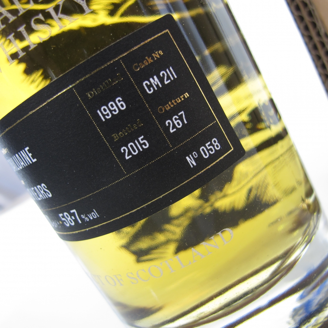 Dailuaine 1996 Golden Cask Reserve 18 Year Old