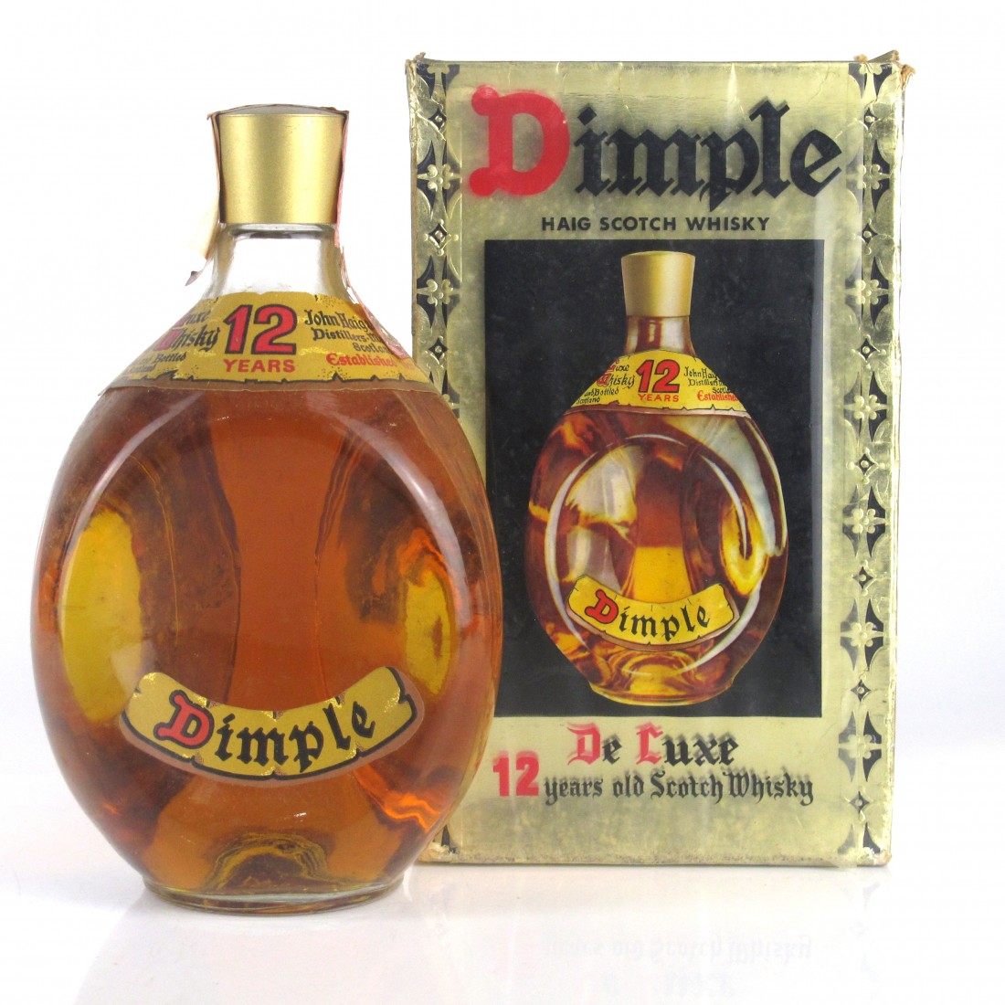Haig's Dimple 12 Year Old 1970s / Sacco Import