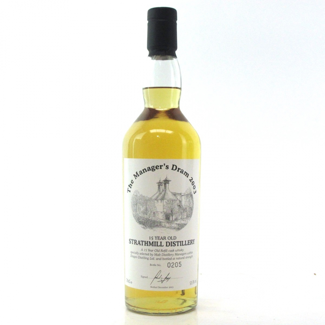 Strathmill 15 Year Old Managers Dram 2003