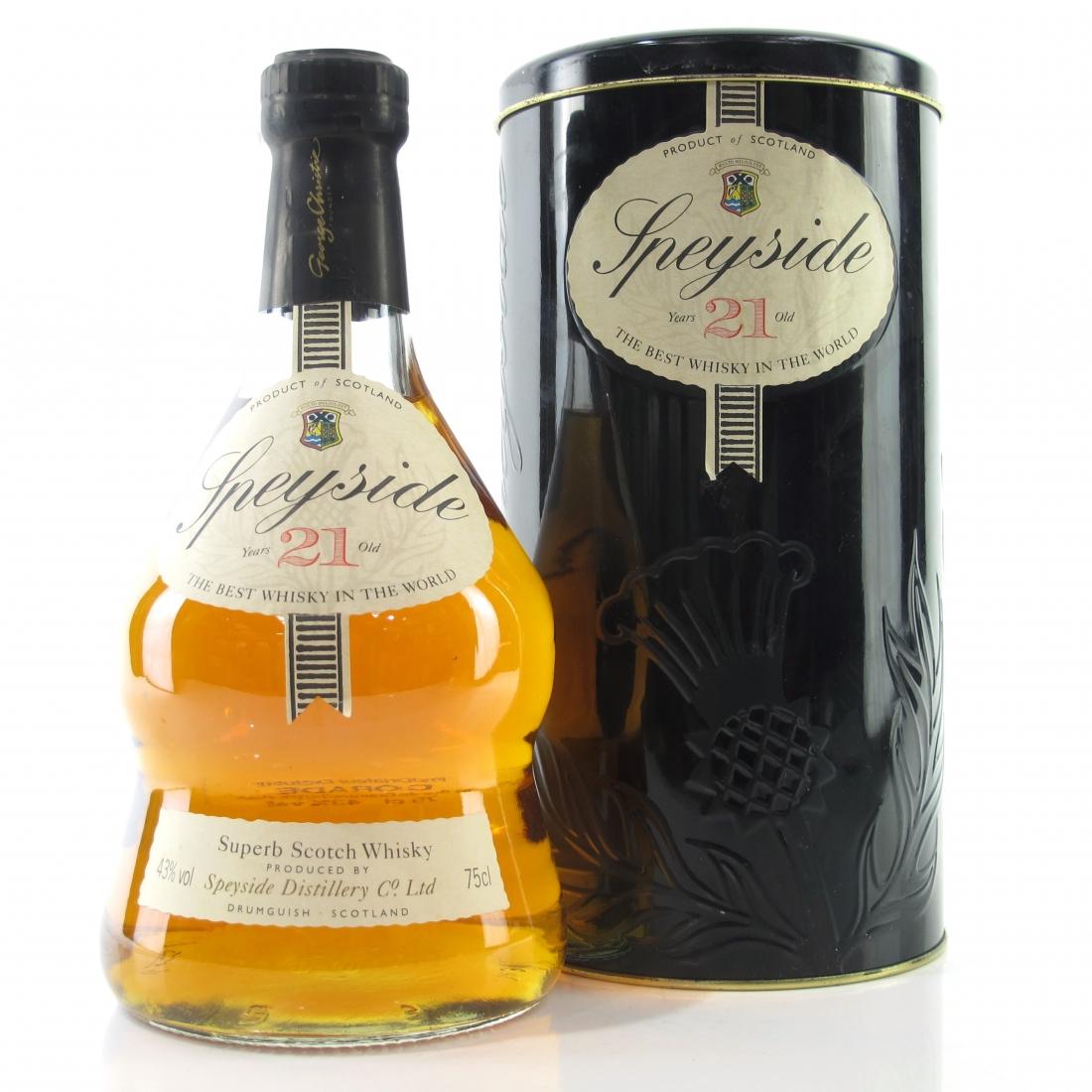 Speyside 21 Year Old Scotch Whisky