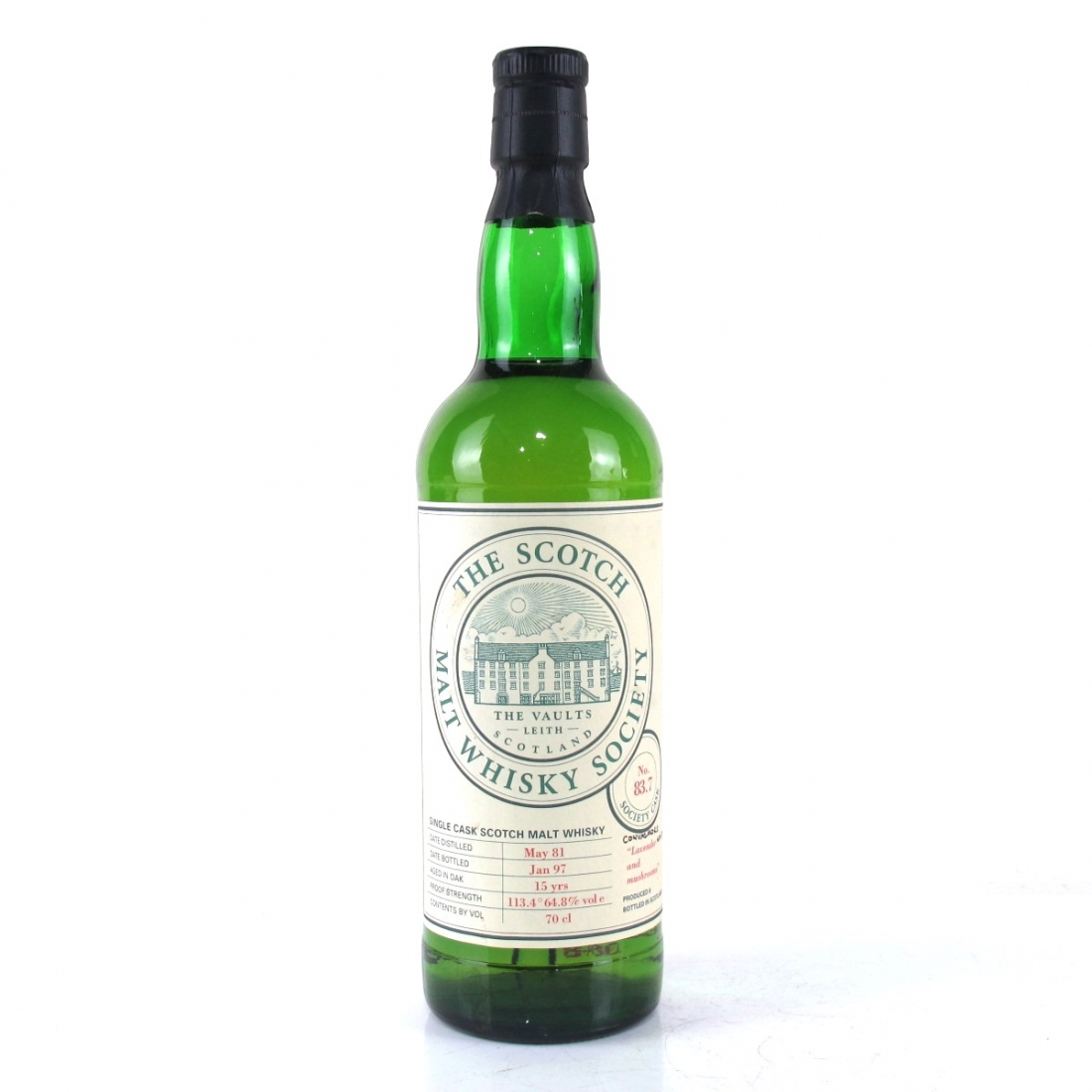 Convalmore 1981 SMWS 15 Year Old 83.7