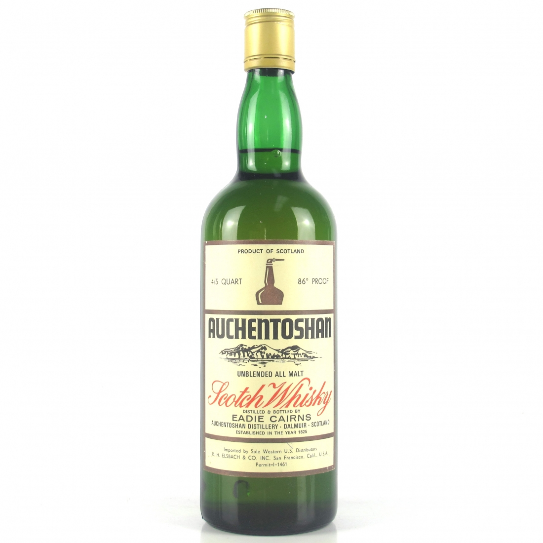 Auchentoshan Single Malt 1970s / US Import