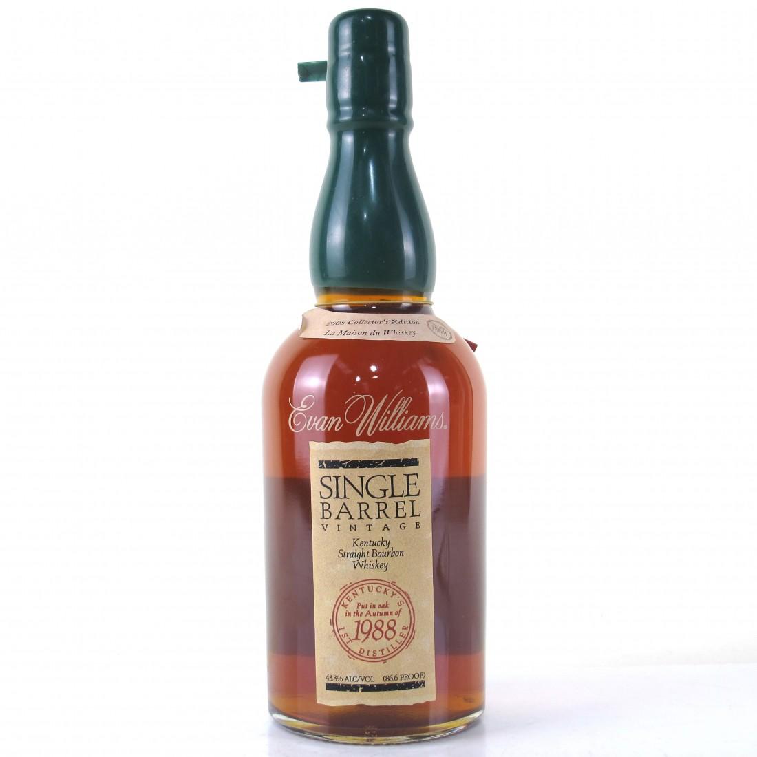 Evan Williams 1988 Single Barrel / La Maison Du Whisky