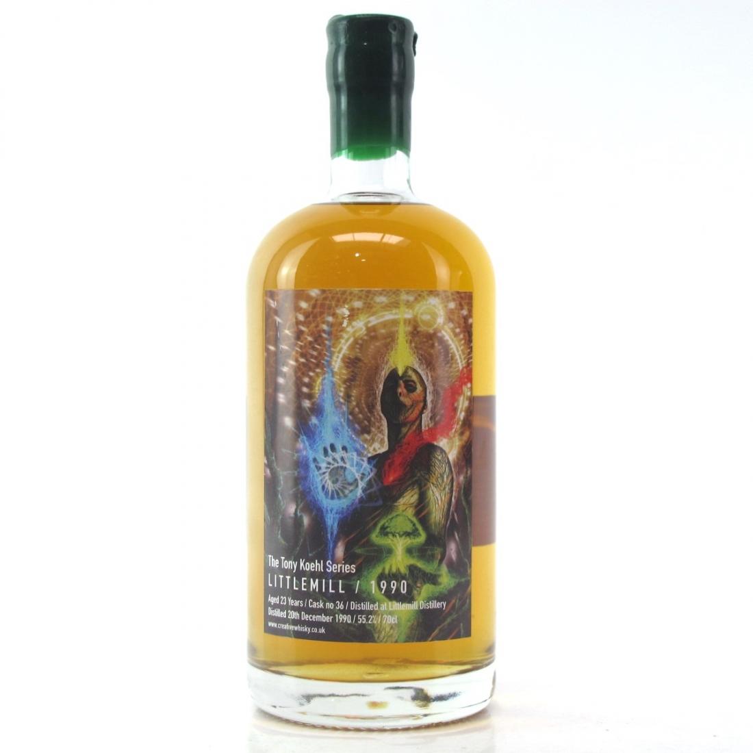 Littlemill 1990 Creative Whisky Co 23 Year Old / Tony Koehl Series