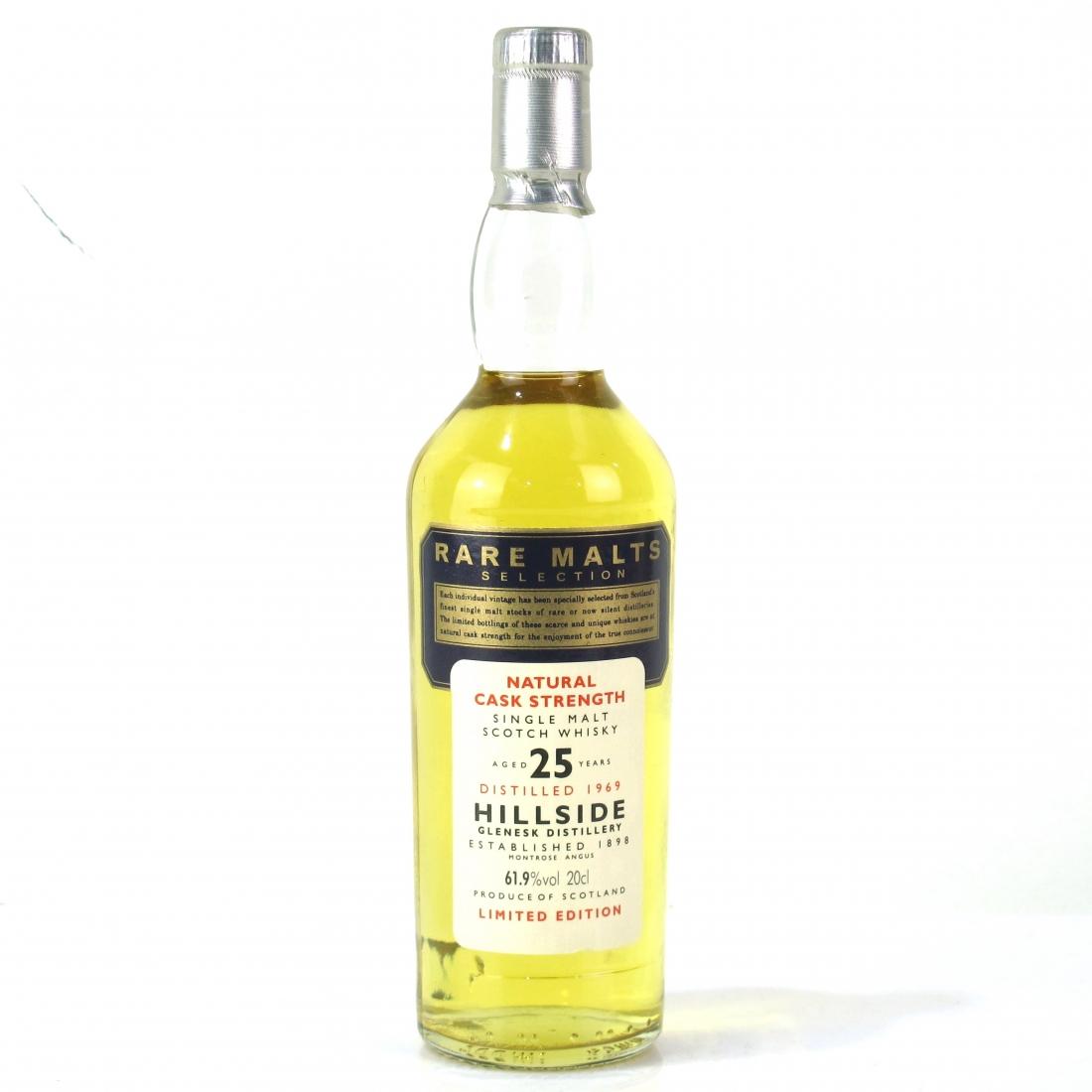 Hillside / Glenesk 1969 Rare Malt 25 Year Old 20cl / 61.9%